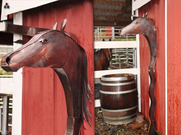 Horse Downspout